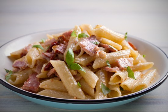 Penne Chicken & Smoked Bacon