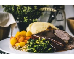 Roast Beef & Seasonal Veg