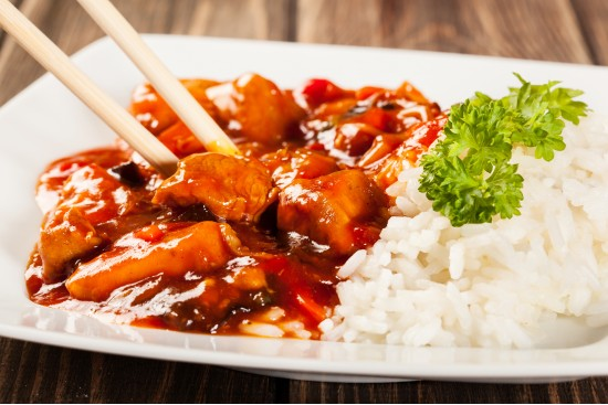 Sweet and Sour Chicken & Rice